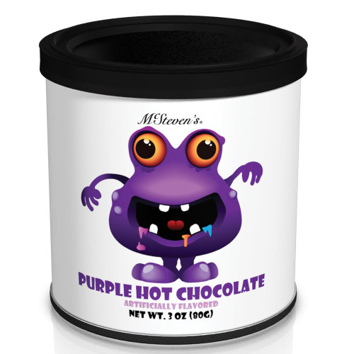 SOS!  Colorful Creatures Purple Hot Chocolate