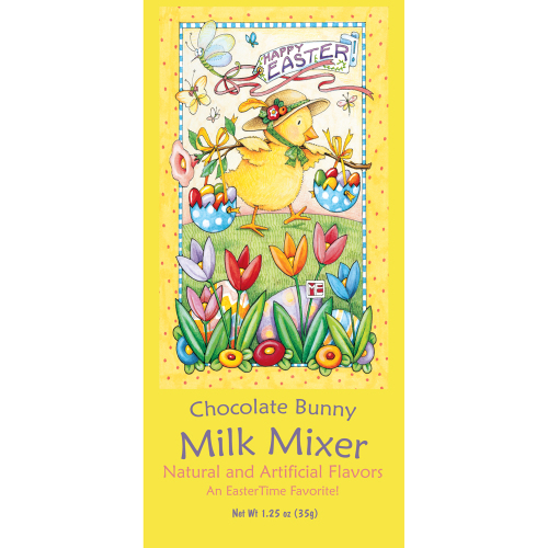 SALE!  Chocolate Bunny Milk Mixer Set/4