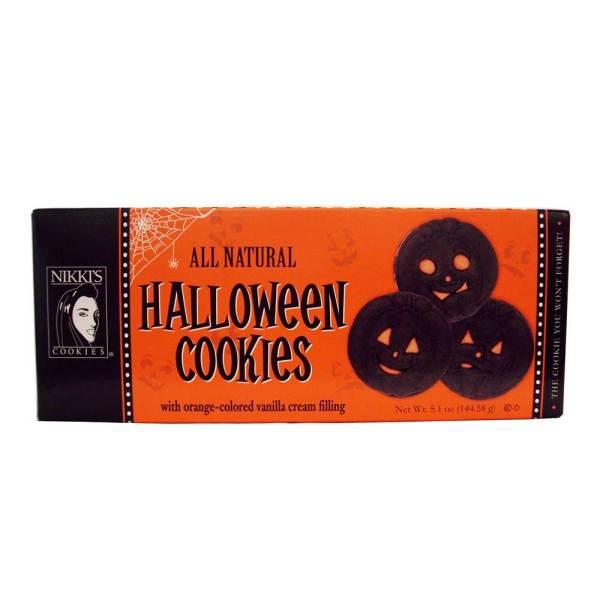 SOS!  Pumpkin Halloween Cookies
