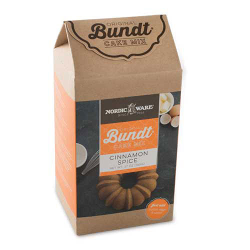 Cinnamon Spice Bundt Cake Mix