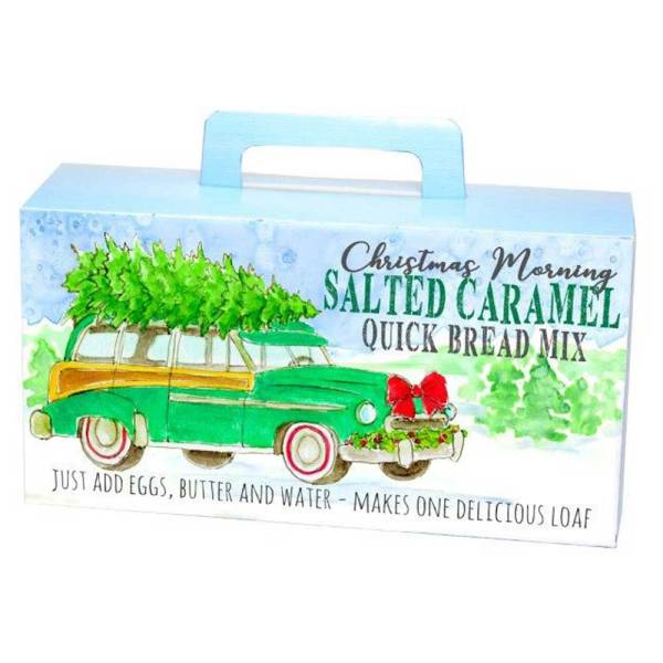 Christmas Morning Salted Caramel Quick Bread Mix
