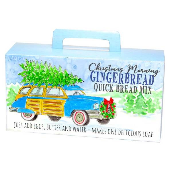 SALE!  Truck with Tree Gingerbread Quick Bread Mix