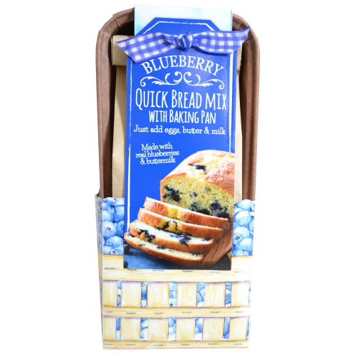 LTD QTY!  Blueberry Quick Bread Loaf Kit