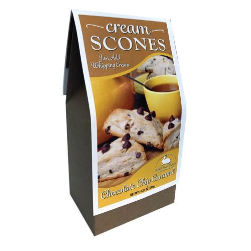 Chocolate Chip Caramel Cream Scone Mix