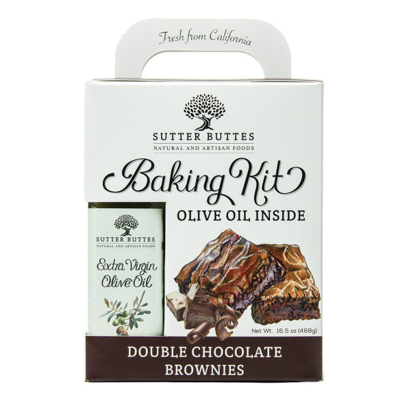 SALE!  Extra Virgin Olive Oil Double Chocolate Brownie Kit