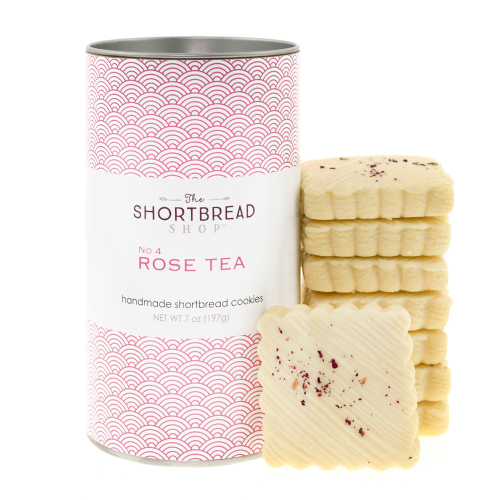 Rose Tea Shortbread