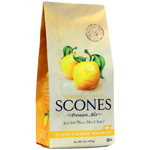 LTD QTY!  Lemon Poppyseed Scone Mix