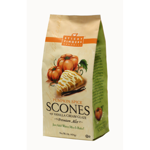 LTD QTY!  Pumpkin Spice Scone Mix with Glaze