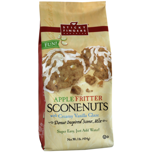 SOS!  Apple Fritter Scone-Nuts Mix