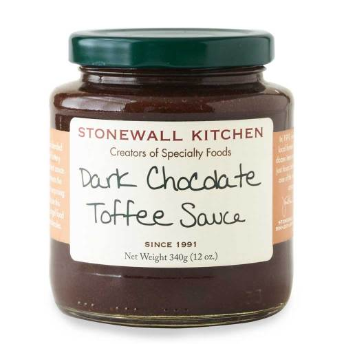 LTD QTY!  Dark Chocolate Toffee Sauce