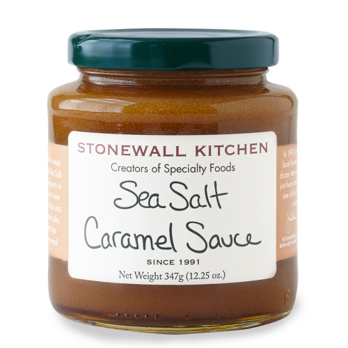 SOS!  Sea Salt Caramel Sauce
