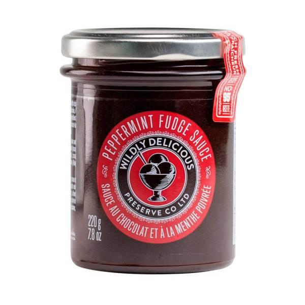 Peppermint Fudge Sauce