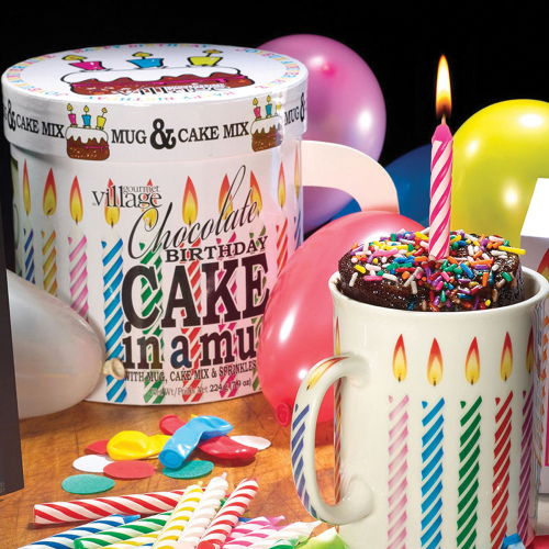 Birthday Cake in a Mug Kit