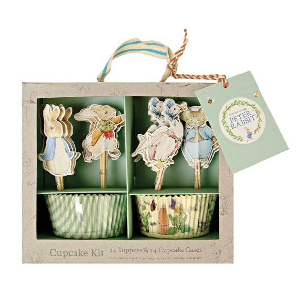 Beatrix Potter's Peter Rabbit Cupcake Kit