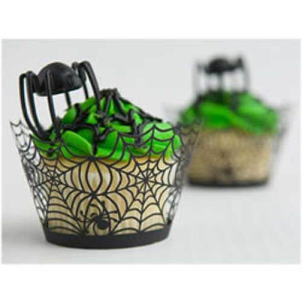 SALE!  Spider Web Cupcake Wrappers