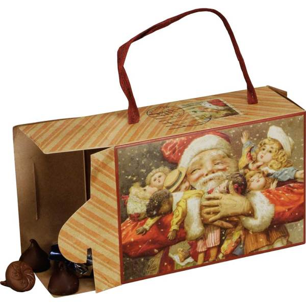 Vintage Santa Treat Box