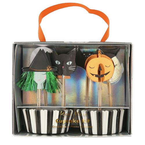 Halloween Motif Cupcake Kit