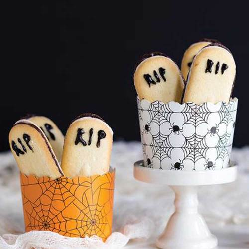 Spider Web Baking Cups