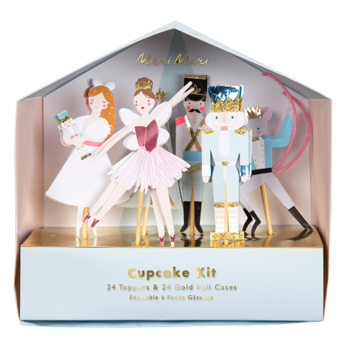 SALE!  Nutcracker Cupcake Kit