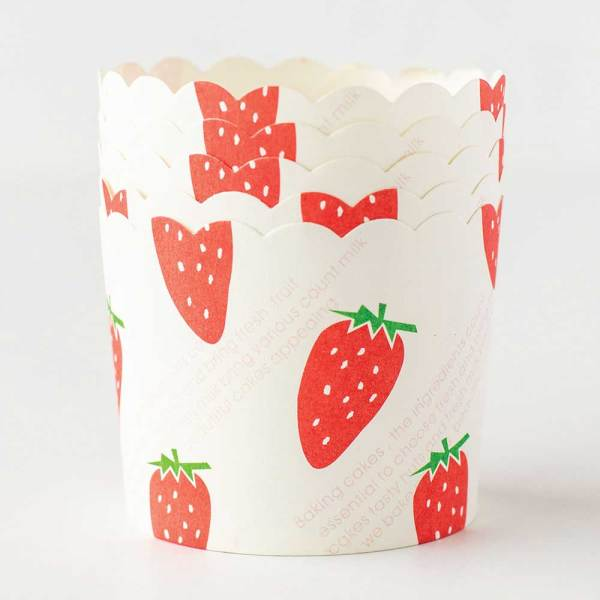 SALE!  Strawberry Baking Cups
