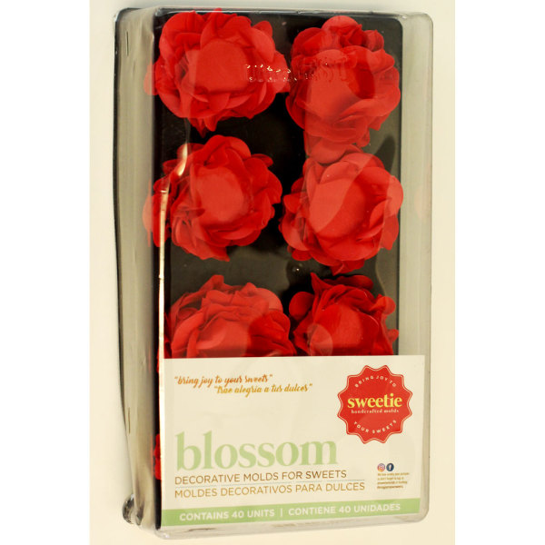 Red Blossom Treat Wrappers