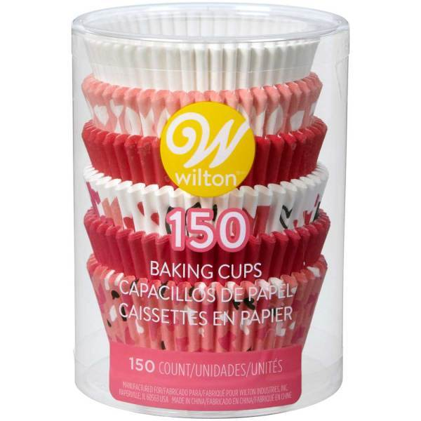 Valentine Baking Cups Assorted