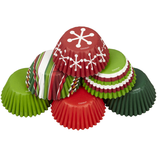 Holiday Mini Baking Cups