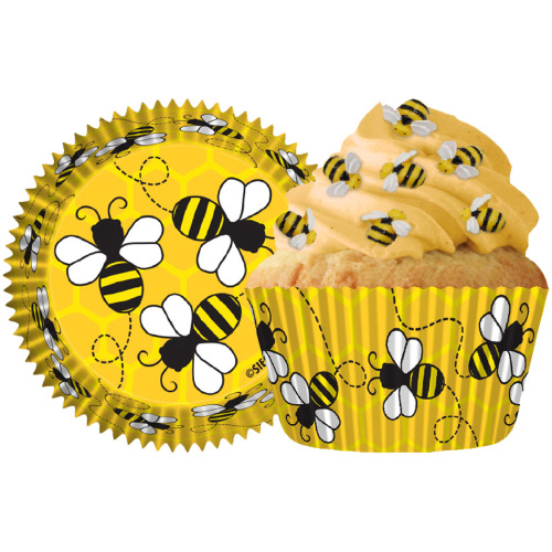 Honey Bees Cupcake Liners