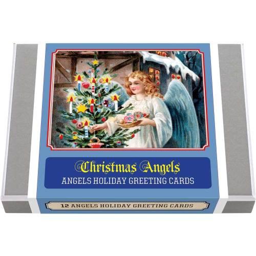 Vintage Christmas Angels Greeting Cards