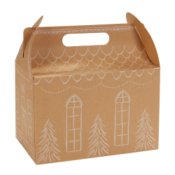 Gingerbread House Treat Box Kit