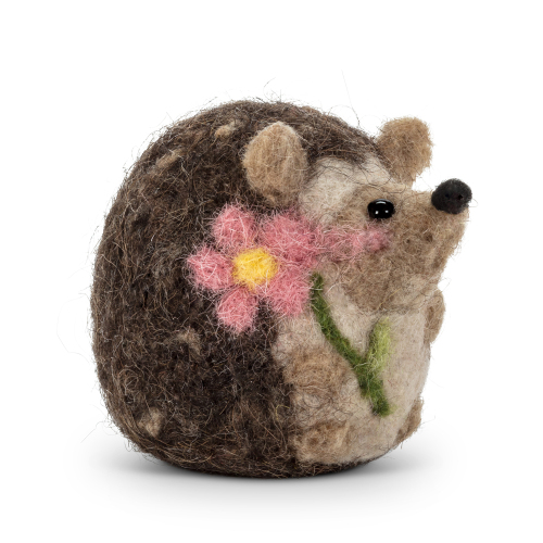 Small Sitting Hedgehog Decoration