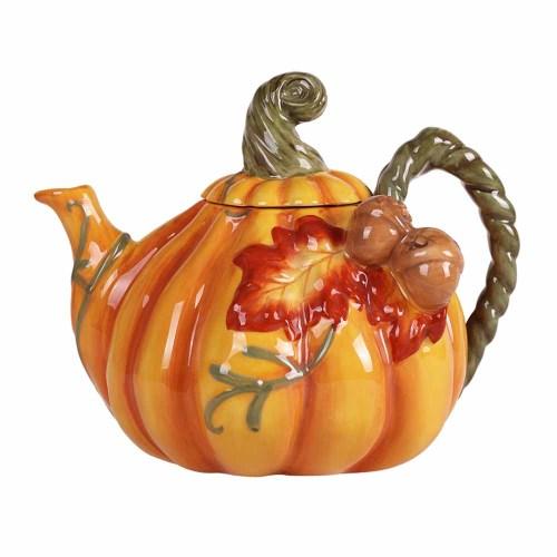 Pumpkin Patch Teapot
