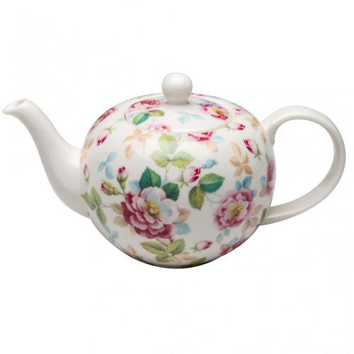 Pink Bloom Teapot
