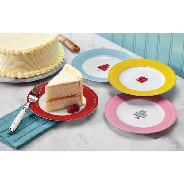 SALE! Mini Cake Design Dessert Plate Set