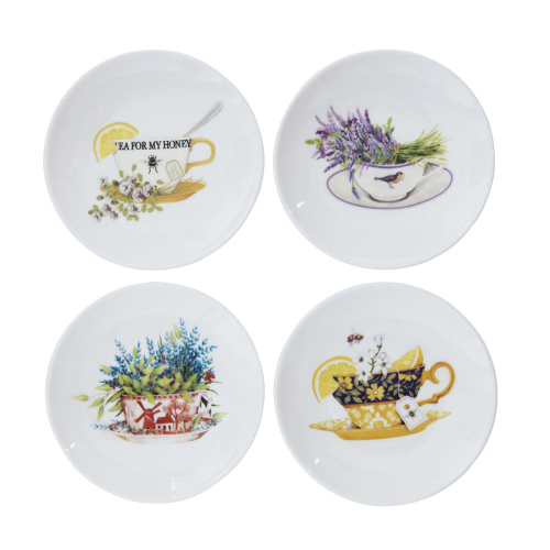 Tea Time Plate Set