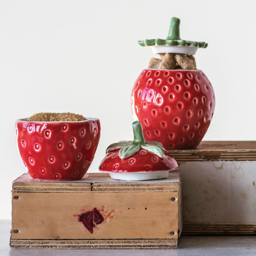 Strawberry Jar Set