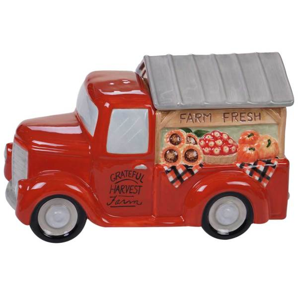 Harvest Truck Cookie Jar