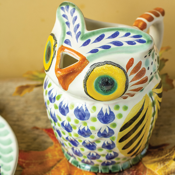 SALE! Owl Pitcher