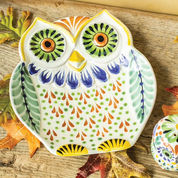 SALE! Small Owl Platter