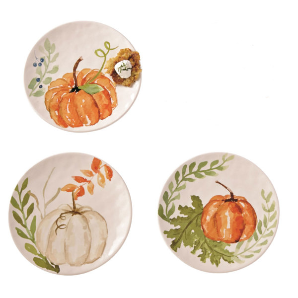 SALE!  Pumpkin and Vine Plate