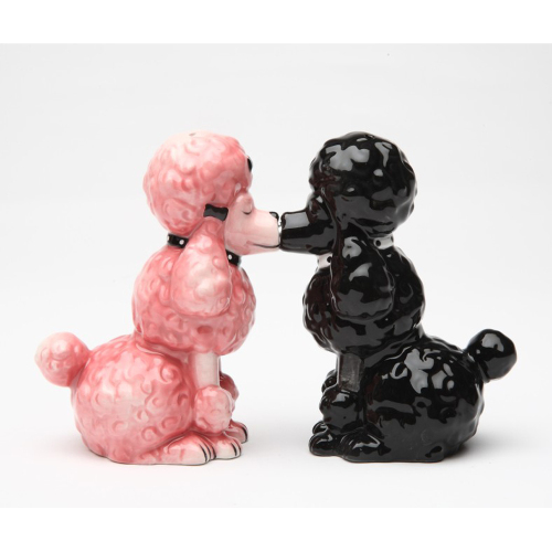SALE!  Poodle Pair Salt & Pepper