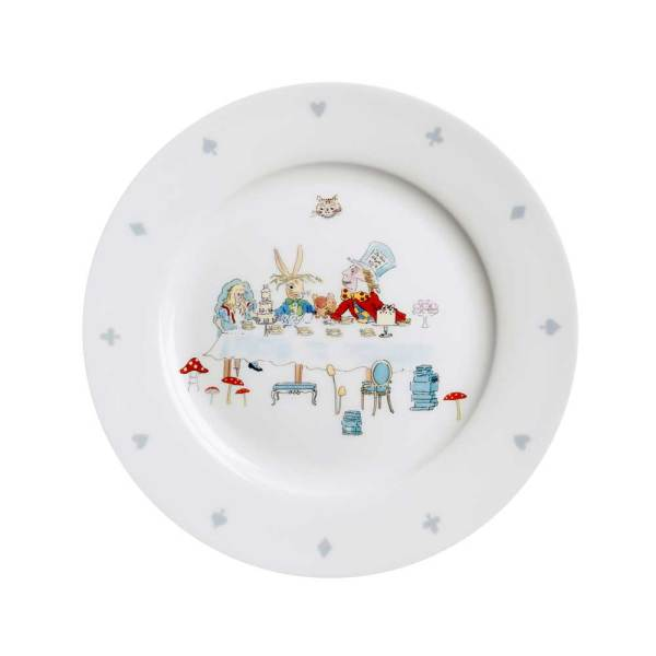 Alice in Wonderland Serving Plate