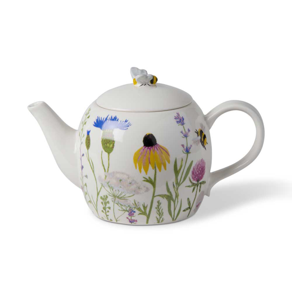 SALE!  Bee Wildflower Teapot