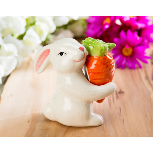 Bunny & Carrot Salt & Pepper Shakers