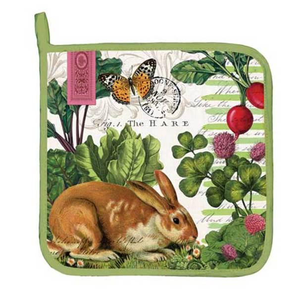 Garden Bunny Potholder, 9