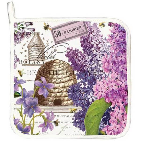 SALE!  Lilac & Violets Potholder