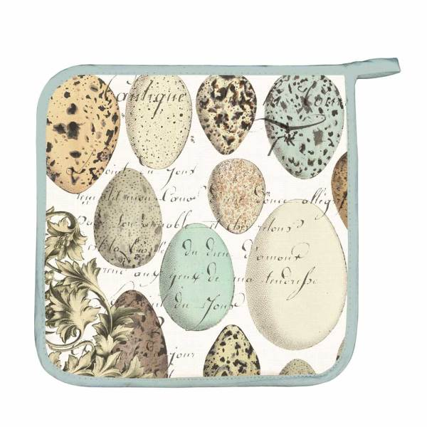 Nest & Eggs Potholder
