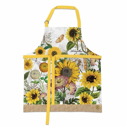 SOS!  Sunflower Apron
