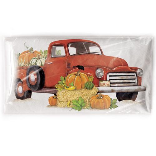 Harvest Truck Flour Sack Towel