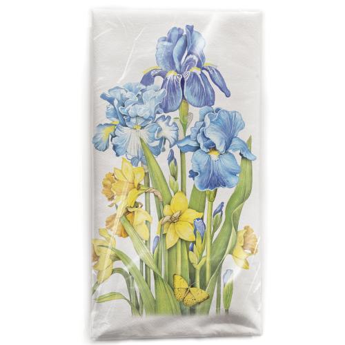 Daffodils & Iris Flour Sack Towel